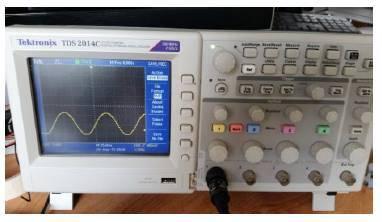 Pandorastar test driving a 200 Hz Lambda frequency