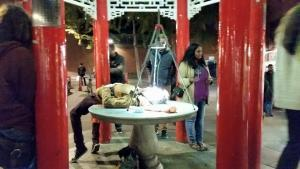Free Psychedelic Experience Anyone? | Pandorastar demonstration in London's China Town